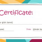 Free Gift Certificate Templates You Can Customize   Free Printable Gift Certificates