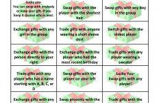Free Gift Exchange Game Printable   Holiday Games   Pinterest - Free Holiday Games Printable
