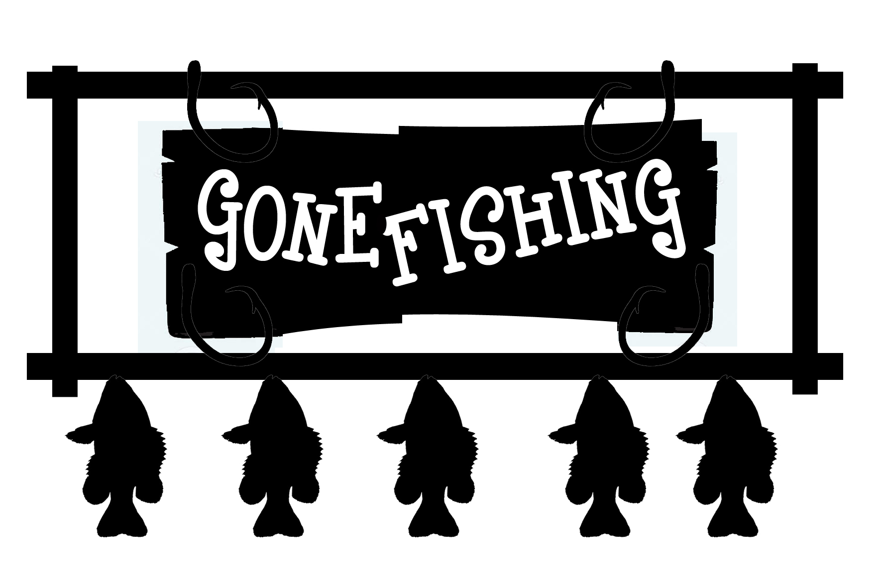 Free Gone Fishing Cliparts, Download Free Clip Art, Free Clip Art On - Free Printable Gone Fishing Sign