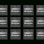 Free Graduation Chalkboard Party Printables From Printabelle | Catch   Free Printable Graduation Address Labels