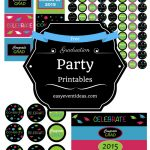 Free Graduation Party Printables 2015 – Easy Event Ideas   Free Printable Graduation Address Labels