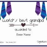 Free Grandparents Day Printables | Customize Online & Print   Grandparents Certificate Free Printable