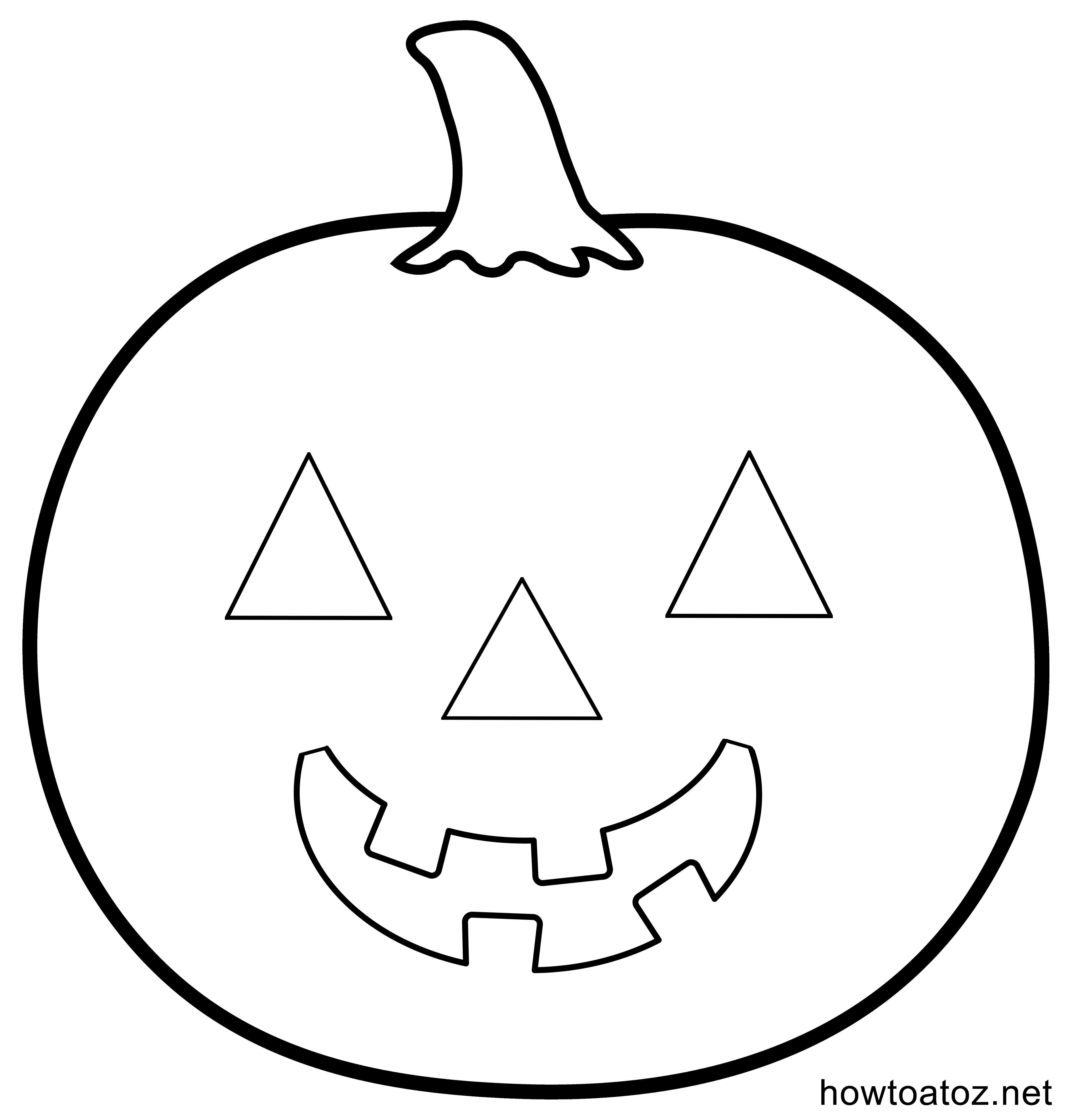 Free Halloween Decoration Stencils And Templates #halloween - Jack O Lantern Templates Printable Free