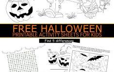 Free Printable Halloween Activities