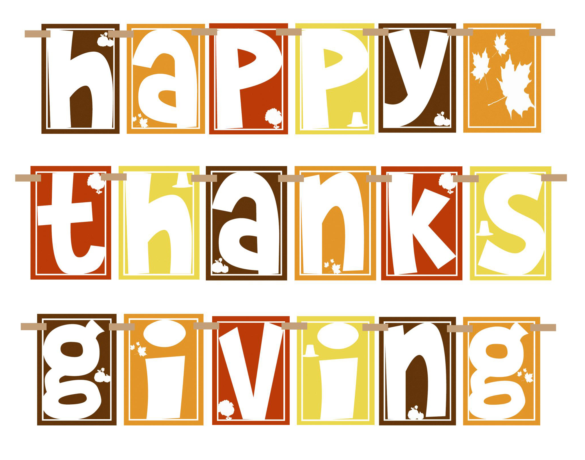 Free Happy Thanksgiving Clipart, Download Free Clip Art, Free Clip - Free Printable Thanksgiving Graphics