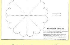 Free Heart Minibook Template | Teaching | Mini Books, Heart Shapes - Free Printable Mini Books
