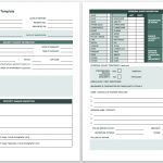 Free Incident Report Templates Smartsheet – Free Printable Incident Report Form