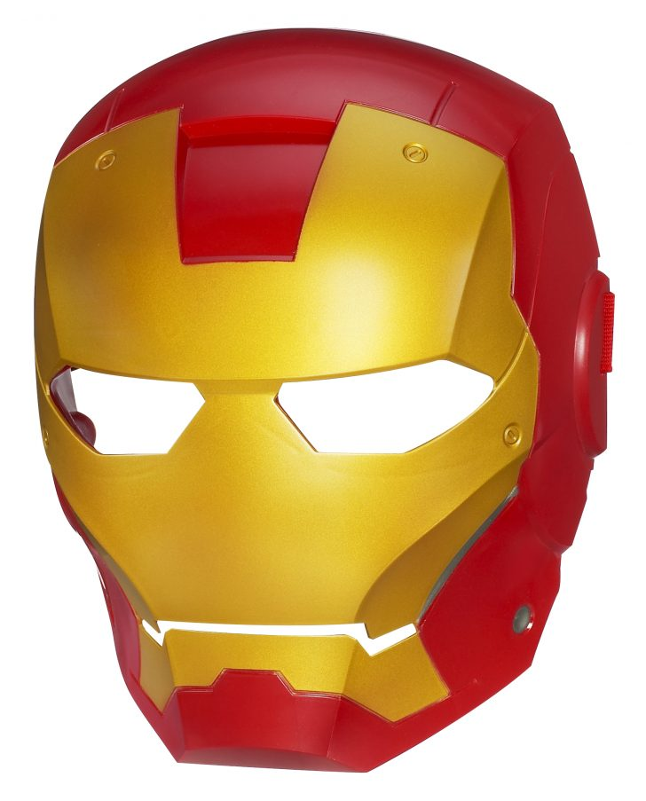 Free Printable Ironman Mask