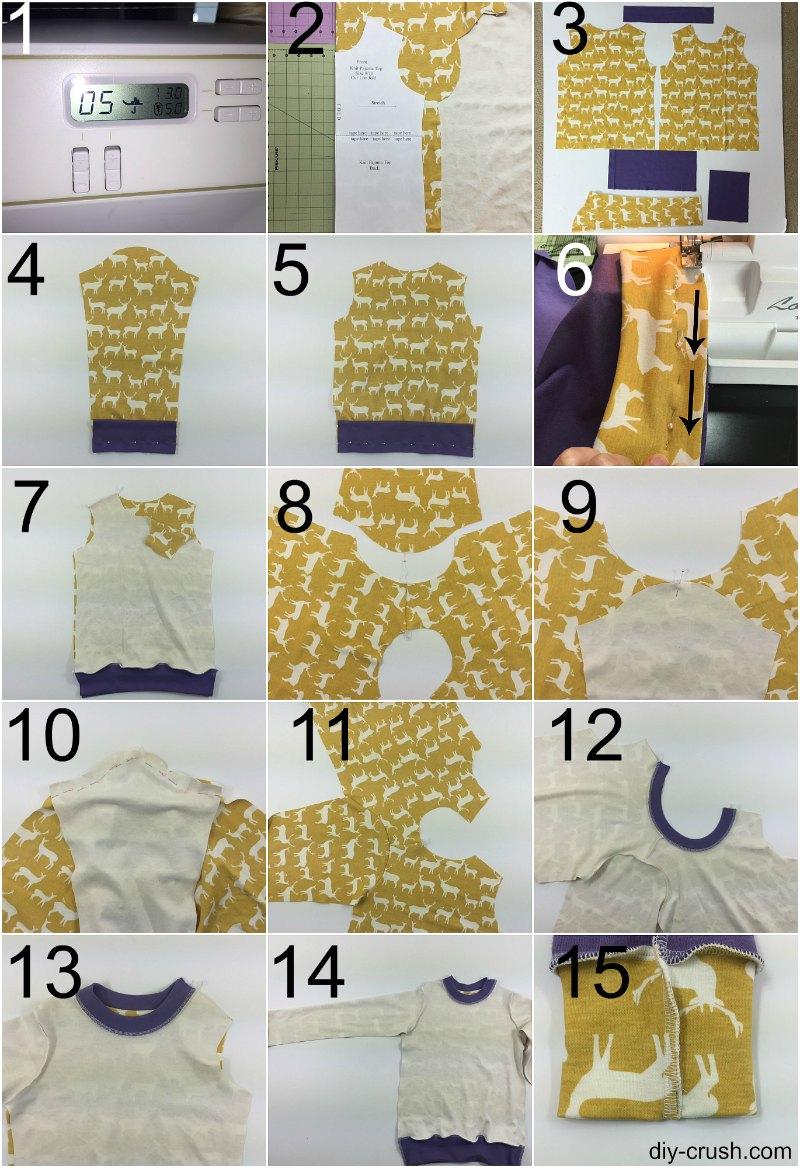 Free Knit Pajama Sewing Pattern - Diy Crush - Free Printable Dog Pajama Pattern