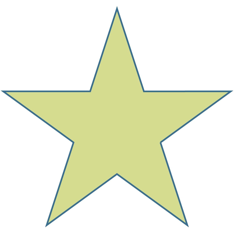 Free Large Printable Star Shapes   Large Star Shape   Christmas - Large Printable Shapes Free