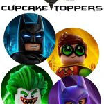 Free Lego Batman Cupcake Toppers | We Found These Great Pins   Free Printable Lego Batman