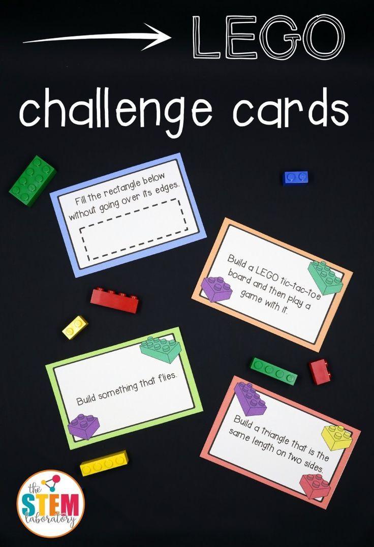 Free Lego Challenge Printable Stem Activities | Learning & Education - Free Printable Stem Activities