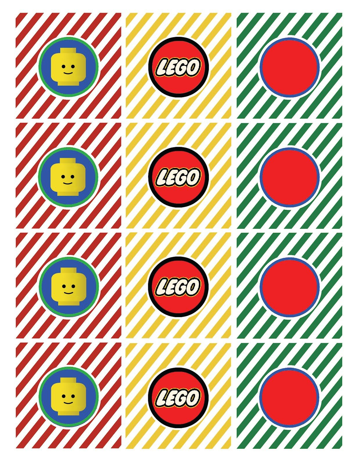 Free Lego Printables | Lego Straw Flag Says Drink Me Lego Tented - Free Printable Lego Cupcake Toppers