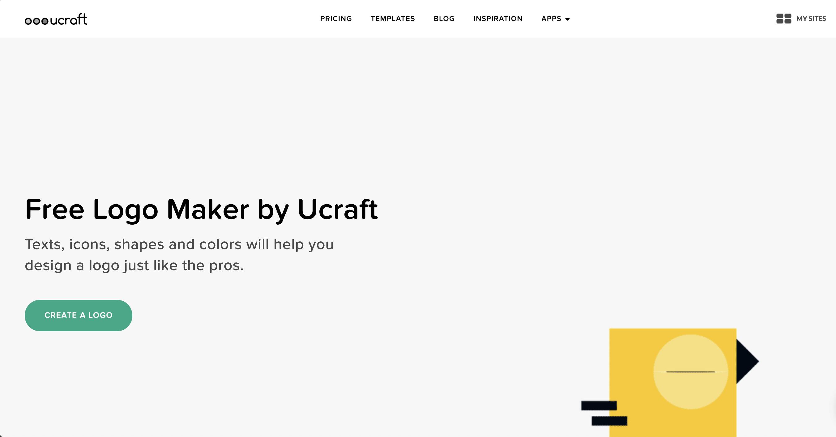 Free Logo Maker | Create Your Own Logo Online | Ucraft - Free Printable Logo Maker