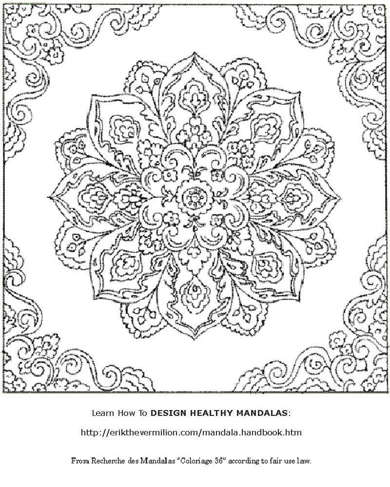 Free Mandalas To Print | Free Mandala Coloring Book Printable Pages - Mandala Coloring Free Printable