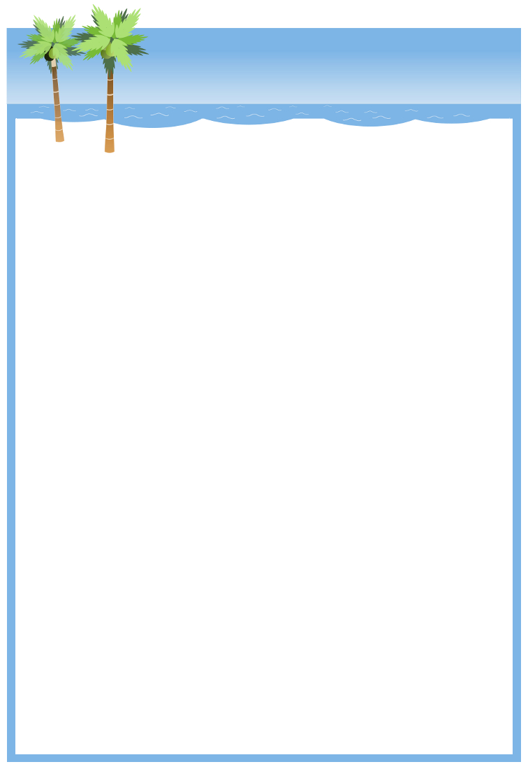 Free Microsoft Borders And Frames - Wow - Image Results - Free Printable Summer Borders