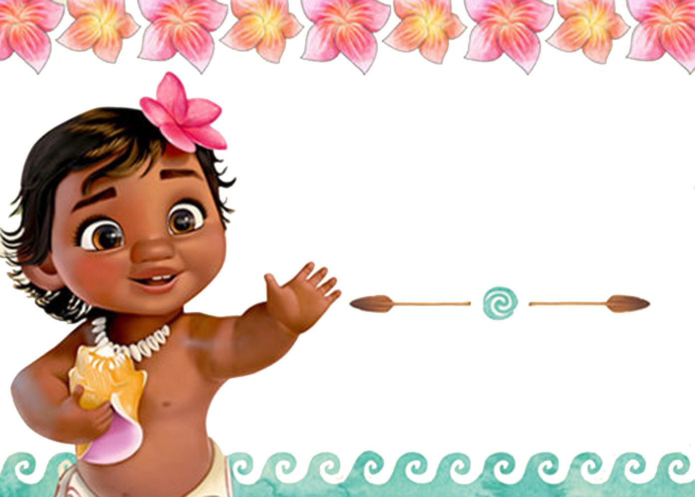 Free Moana Birthday Invitation | Free Printable Birthday - Free Moana Printable Invitations