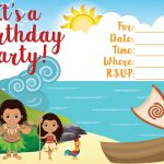 Free Moana Printable Invitations   Joomlaexploit   Free Moana Printable Invitations