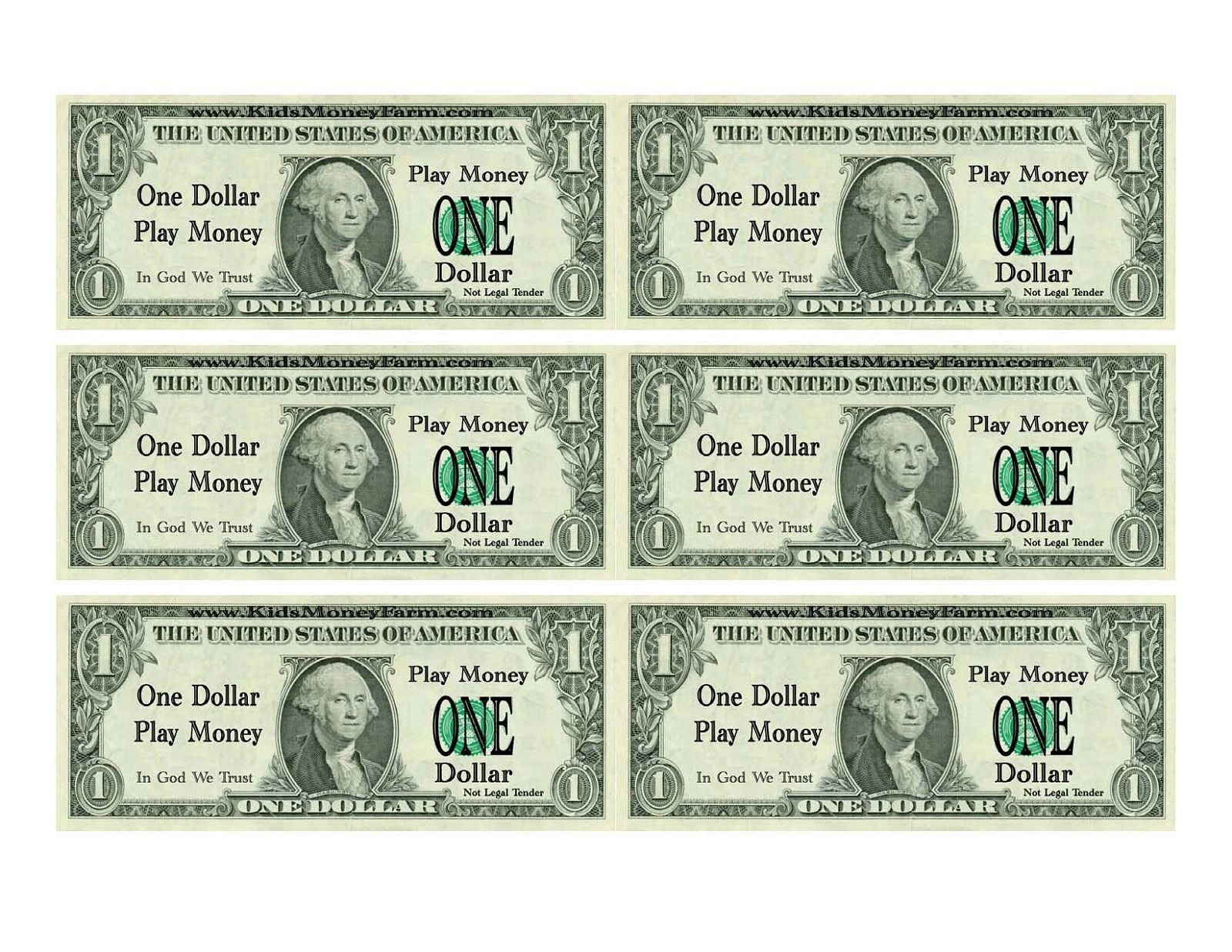 Free Money Printables For Kids To Play With. Good For Counting And - Free Printable Play Dollar Bills