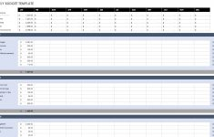 Free Monthly Budget Templates | Smartsheet – Free Printable Monthly Household Budget Sheet