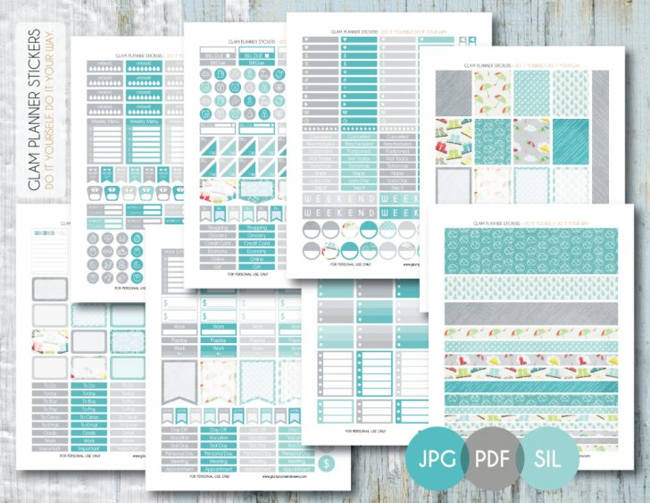 Printable Erin Condren Stickers Free
