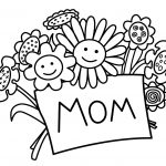 Free Mothers Day Coloring Pages   Nocrc   Free Printable Mothers Day Coloring Cards