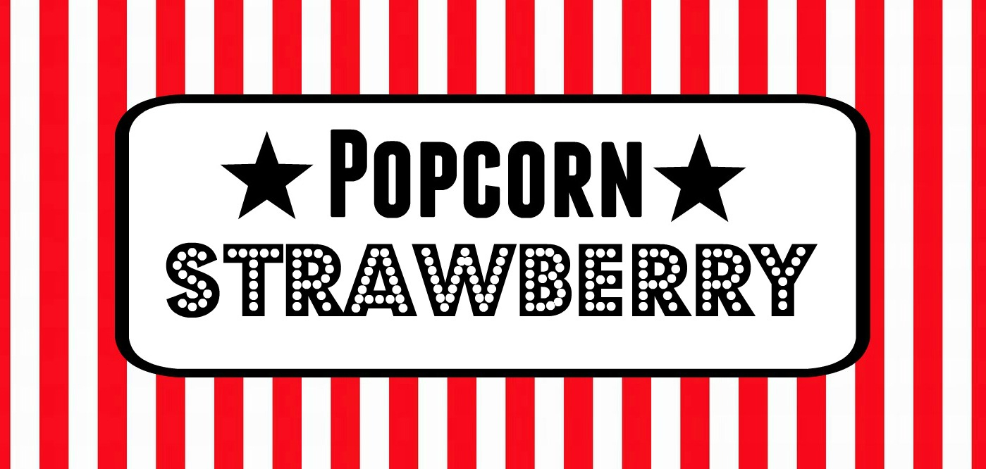 Free Movie Night / Popcorn Bar Printables - Popcorn Bar Sign Printable Free