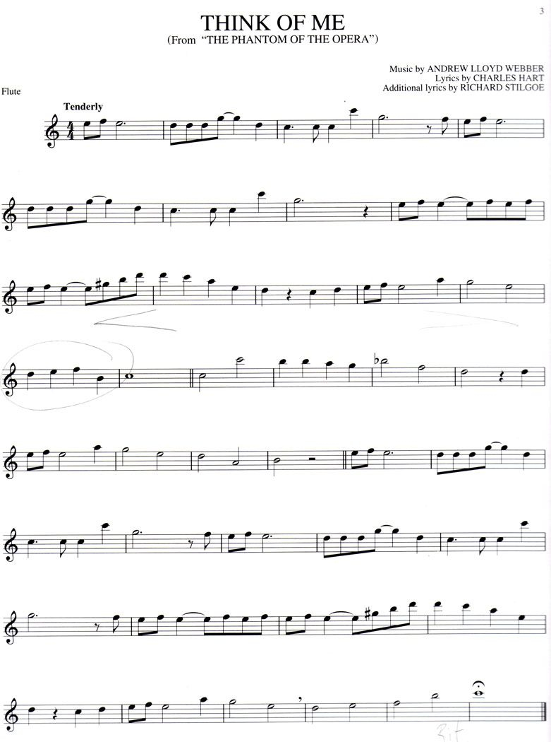 Free Online Flute Sheet Music. I May Not Play The Flute But I Will - Free Printable Flute Sheet Music