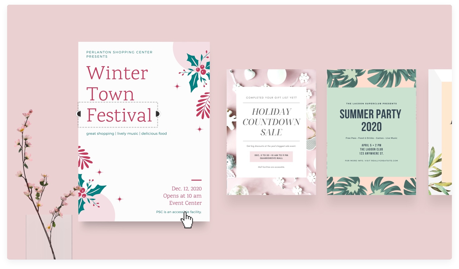 Free Online Flyer Maker: Design Custom Flyers With Canva - About Canva - Free Printable Flyers For Parties