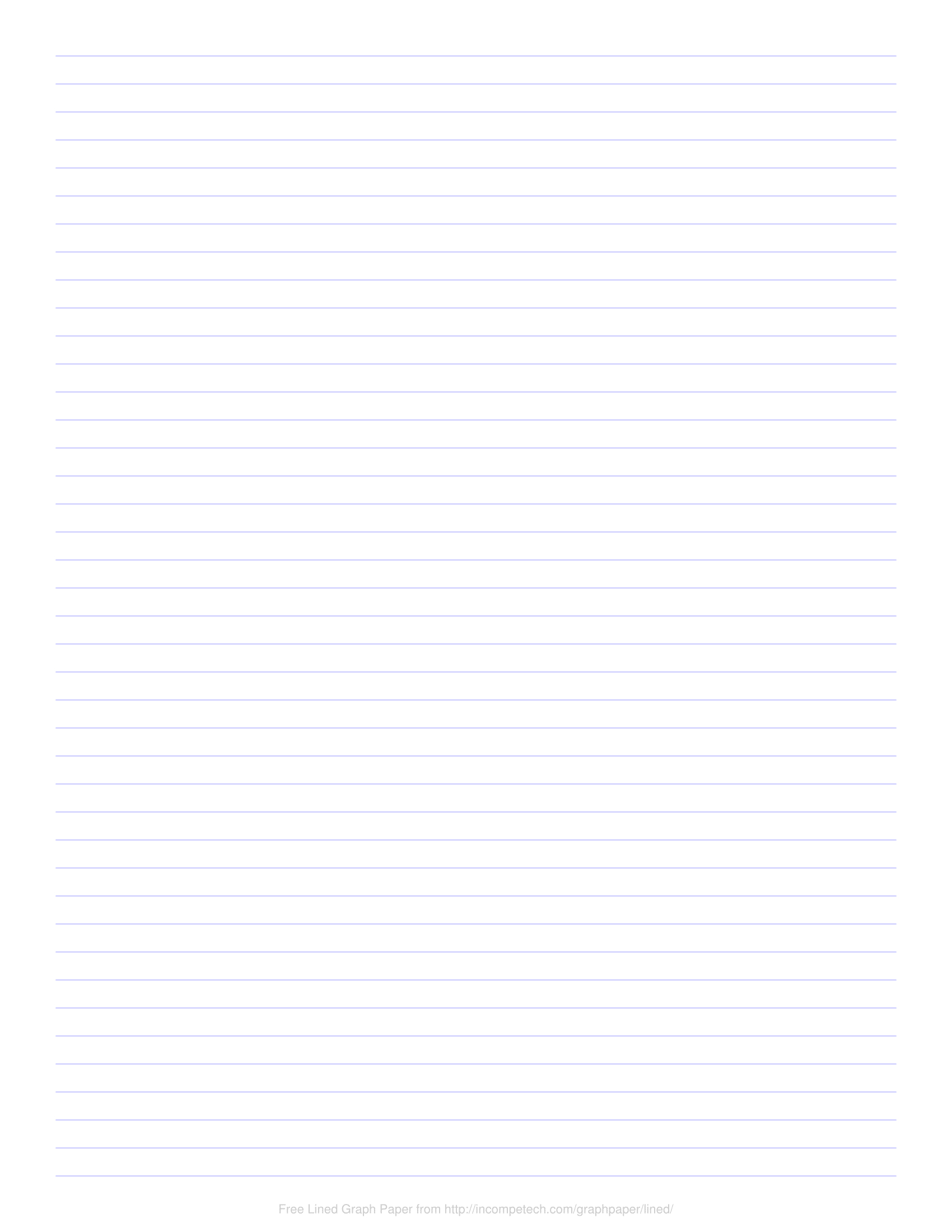 Free Online Graph Paper / Lined - Free Printable Binder Paper
