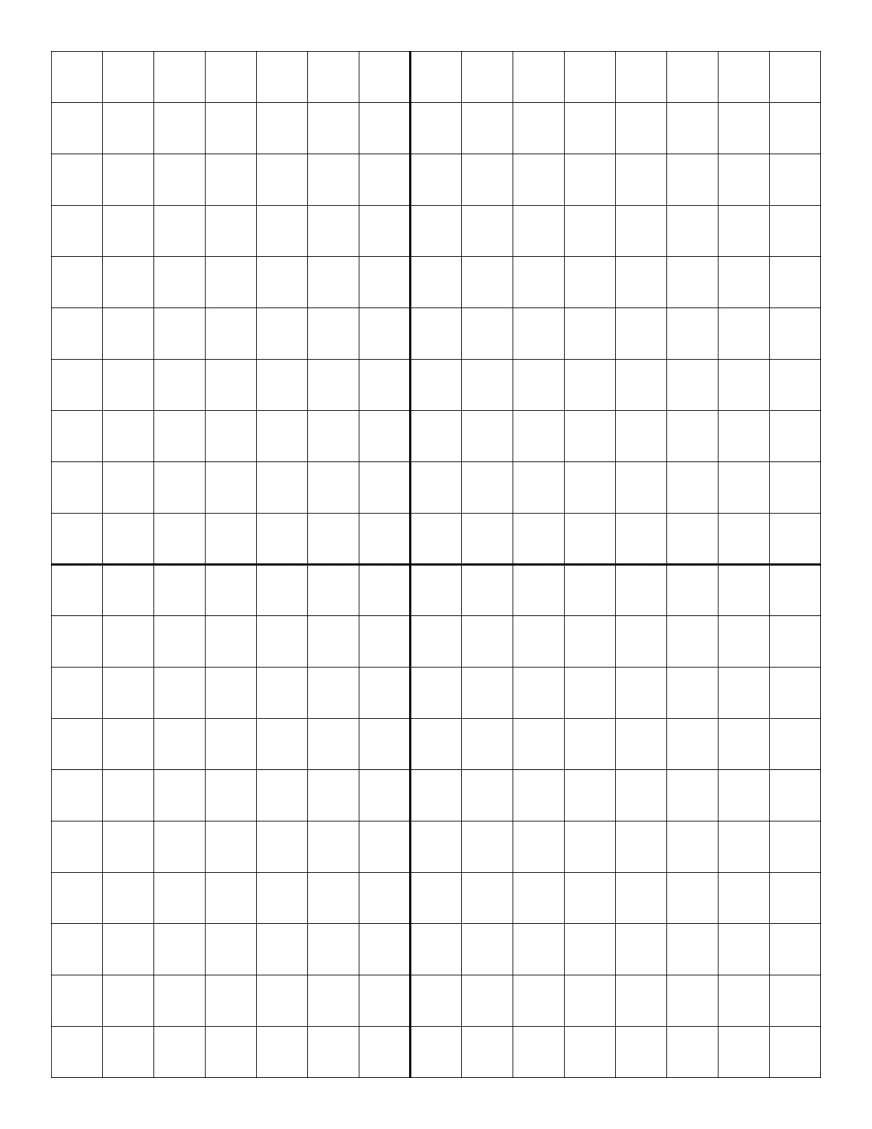 Free Online Graph Paper / Plain - Free Printable Graph Paper With Numbers