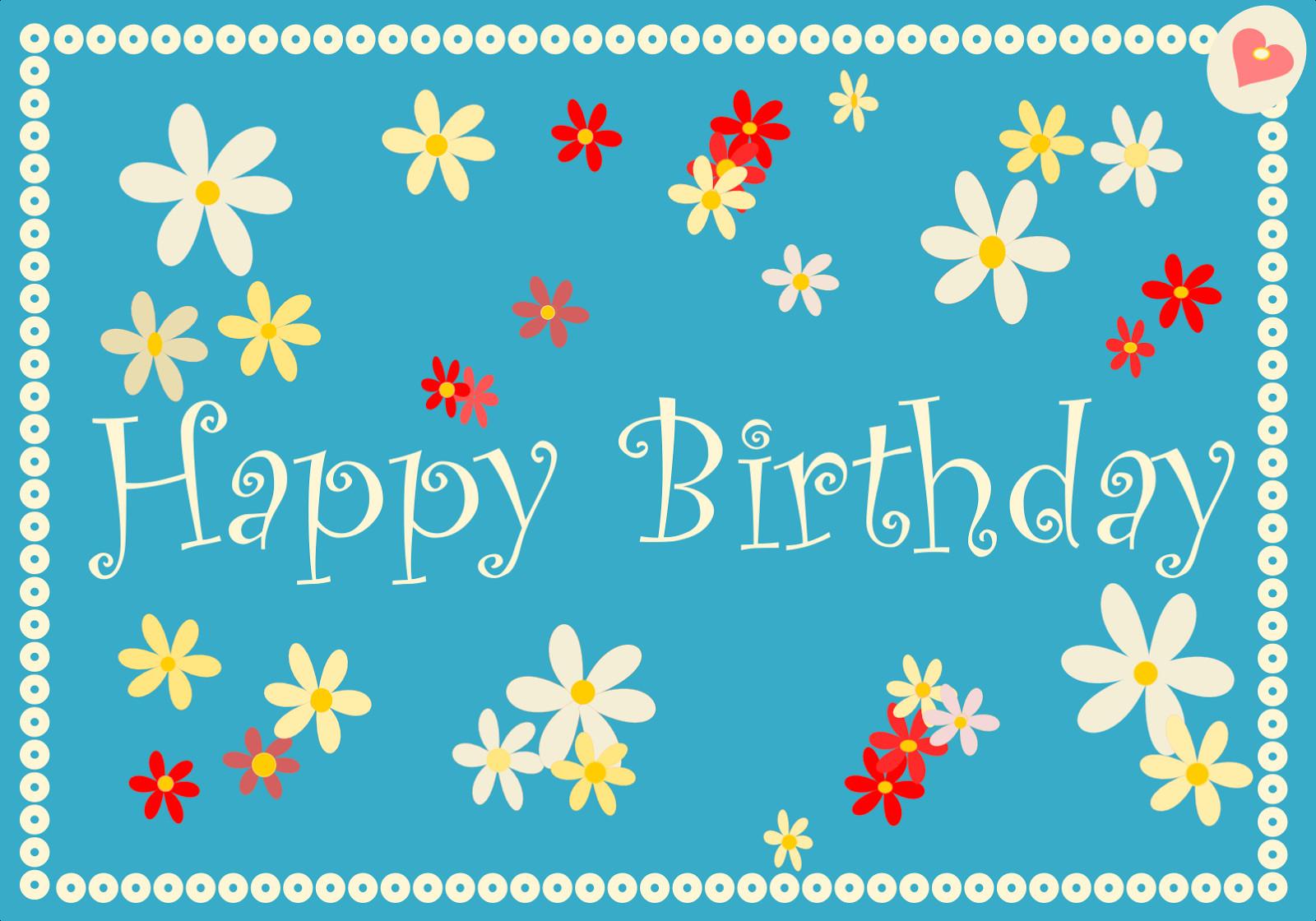 Free Online Printable Birthday Cards | Dozor - Free Online Printable Birthday Cards