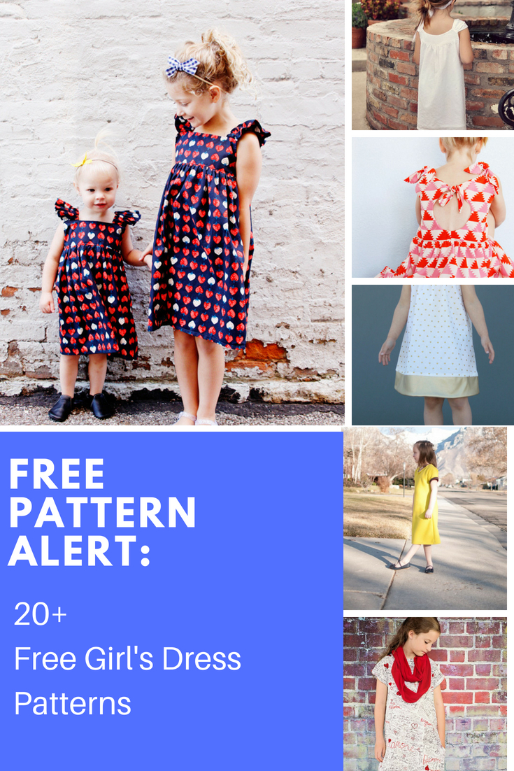 Free Pattern Alert: 20+ Free Girl's Dress Patterns - On The Cutting - Free Printable Pillowcase Dress Pattern