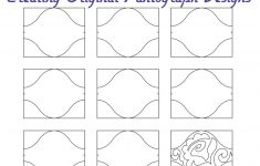 Free Printable Pantograph Patterns