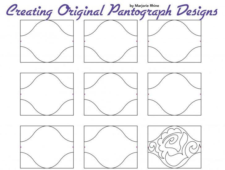 Free Printable Pantograph Patterns