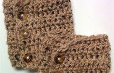 Free Patterns: Crochet Boot Cuffs (2 Versions)   Crochet Ideas And - Free Printable Crochet Patterns For Boot Cuffs