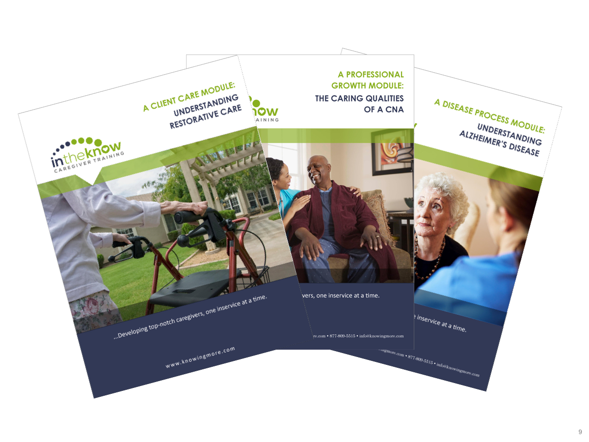 Free Pdf Download   In The Know Caregiver Training - Free Printable Inservices For Home Health Aides