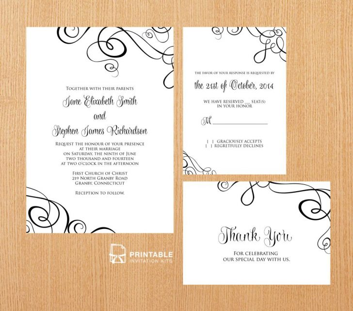 Free Printable Rsvp Cards