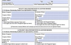 Free Printable Lease Agreement Pa