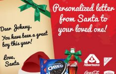Free Personalized Printable Letters From Santa Claus