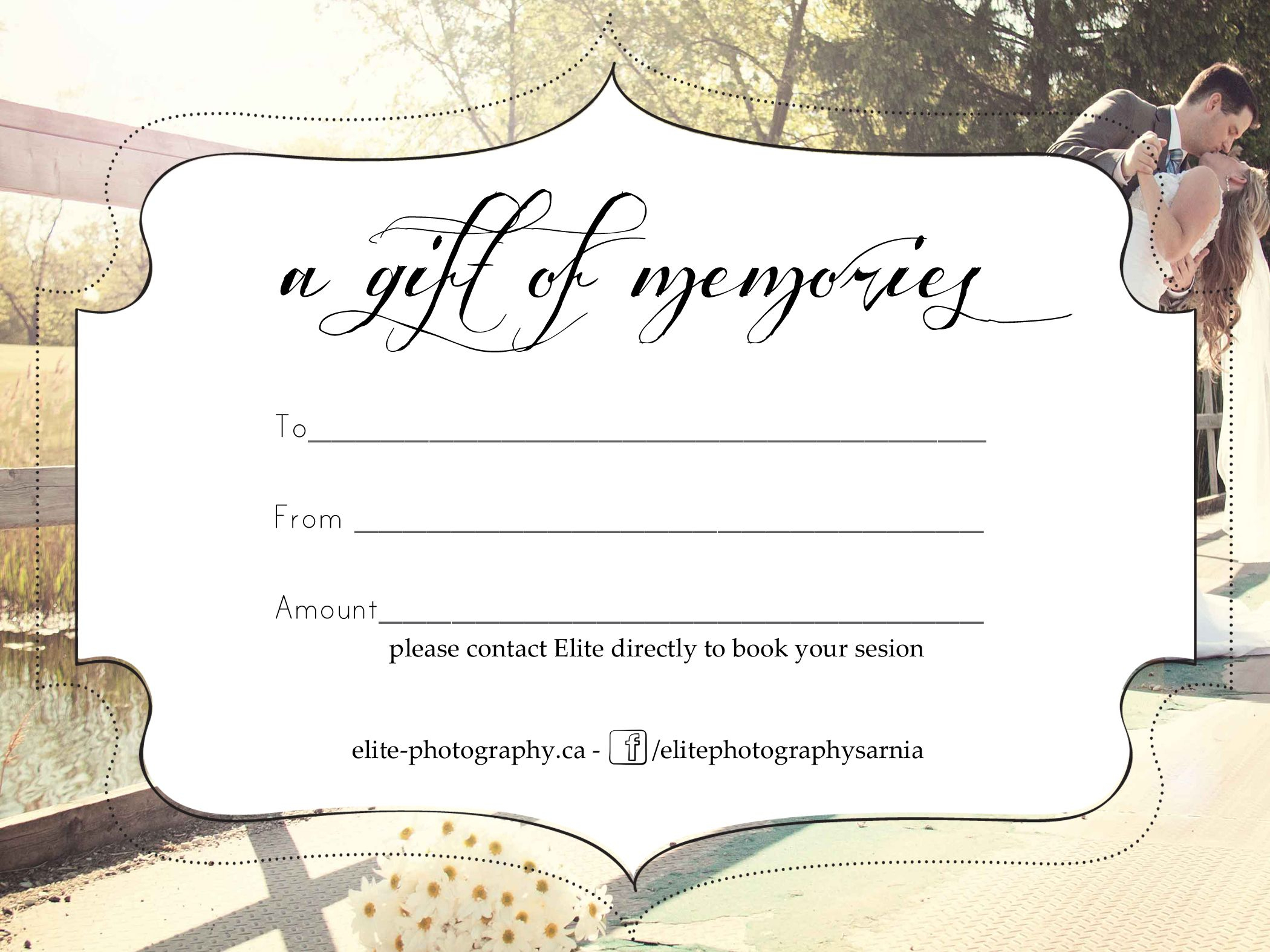 Free Photography Gift Certificate Templatesharetemplatedesigncom - Free Printable Photography Gift Certificate Template
