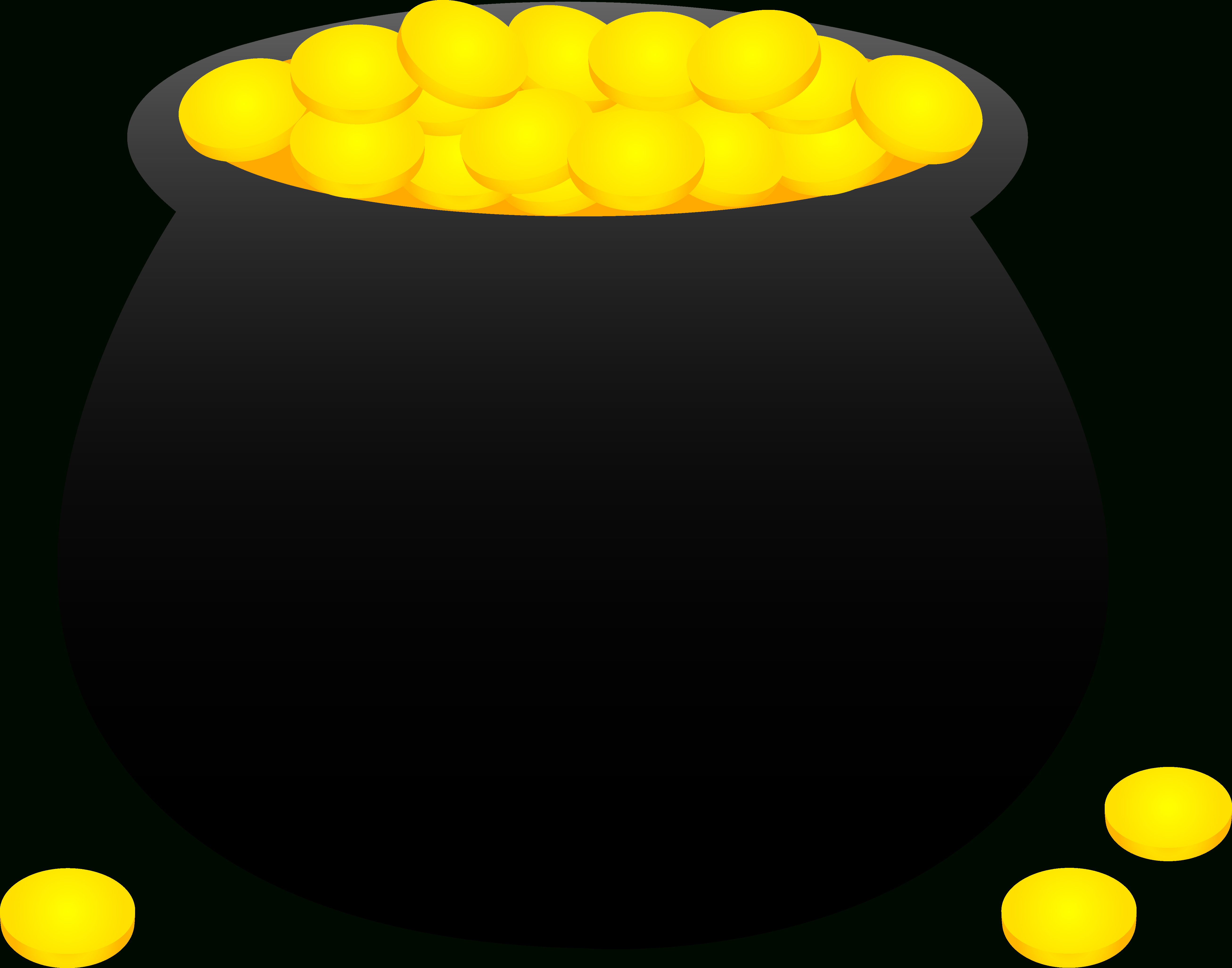 Free Pictures Of A Pot Of Gold, Download Free Clip Art, Free Clip - Pot Of Gold Template Free Printable
