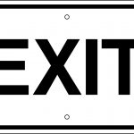 Free Pictures Of Exit Signs, Download Free Clip Art, Free Clip Art   Free Printable Exit Signs With Arrow