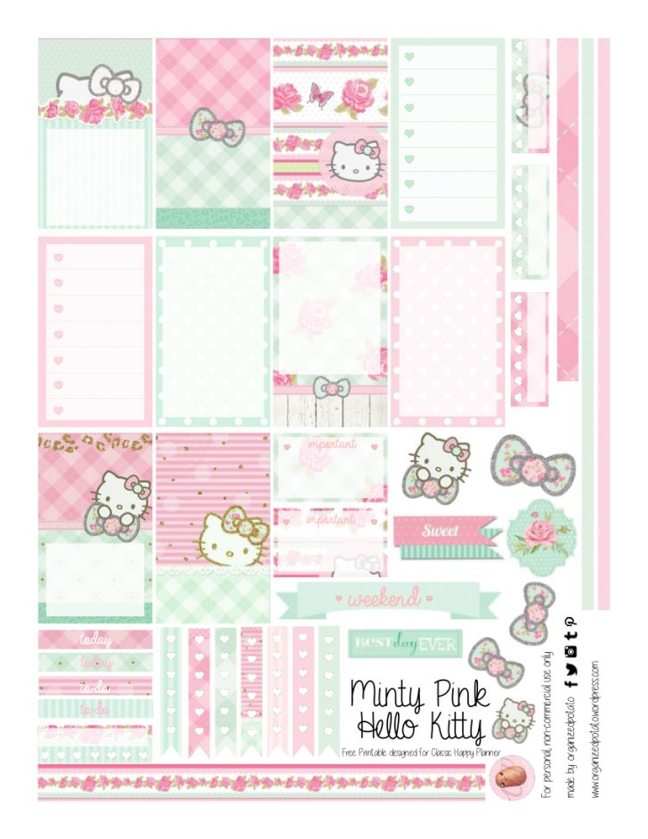 Hello Kitty Labels Printable Free