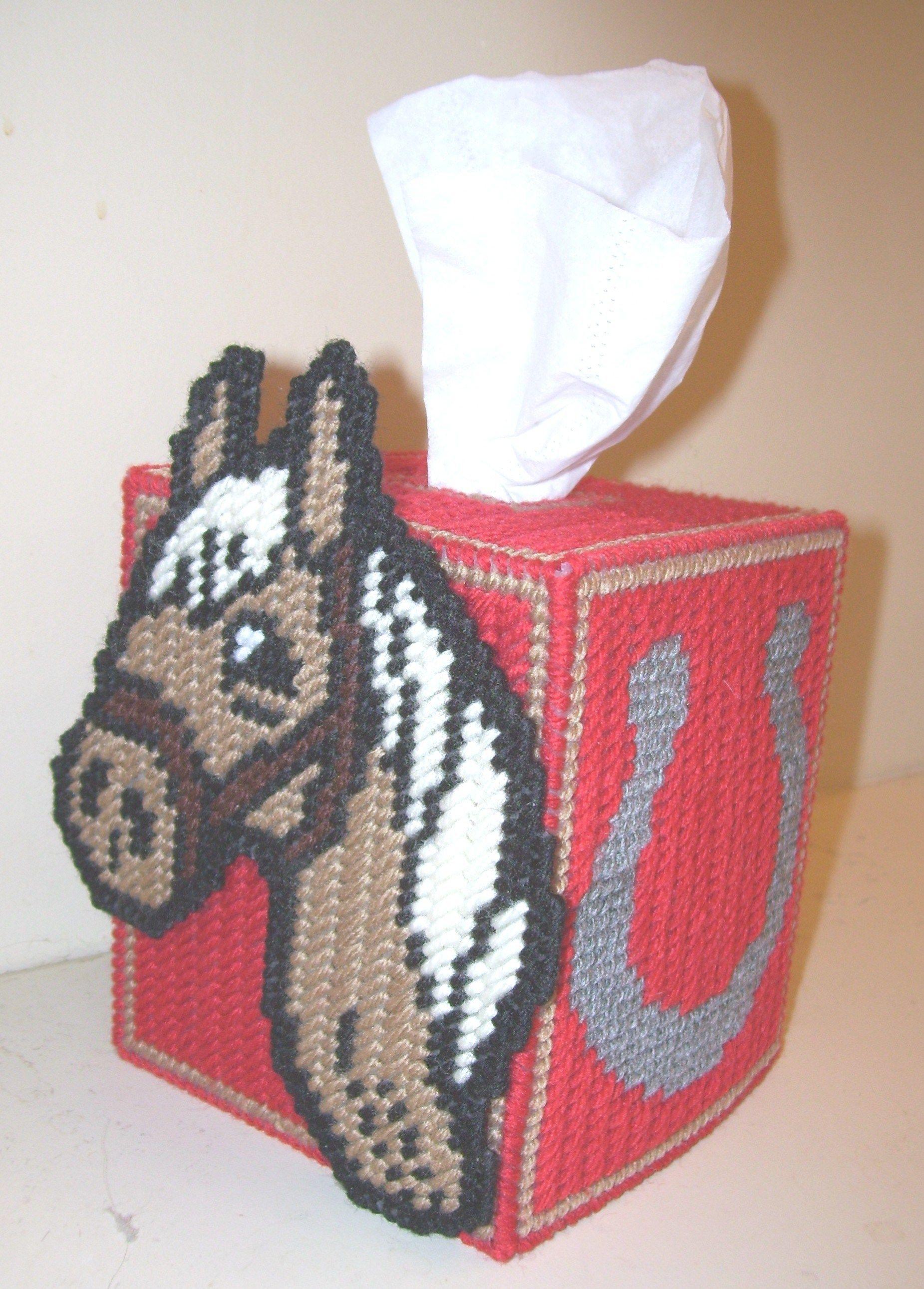 Free Plastic Canvas Tissue Box Patterns. Tissue Box Cover Fits - Free Printable Plastic Canvas Tissue Box Patterns