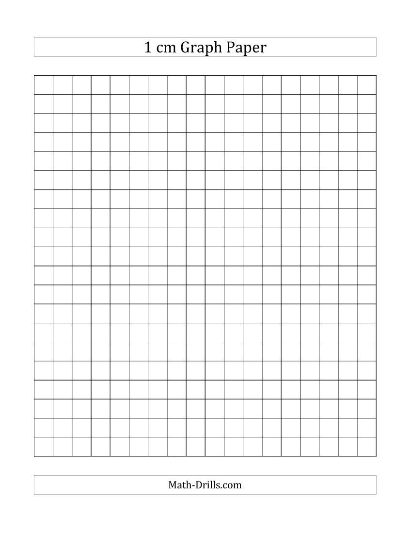 Free Printable 1 Cm Graph Paper (A) | Back To School | Pinterest - Cm Graph Paper Free Printable