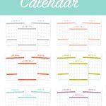 Free Printable 2017 Calendar   Free 2017 Printable