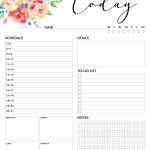 Free Printable 2018 Planner 50 Plus Printable Pages   The Cottage Market   Planner Printable Free