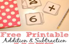 Free Printable Addition And Subtraction Math Flash Cards – Simple – Free Printable Addition Flash Cards