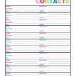 Free Printable Address Book Software Blank Pages Template Excel   Free Printable Address Book Software